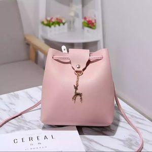 Handbags - New Pink Shoulder Crossbody Bucket Bag